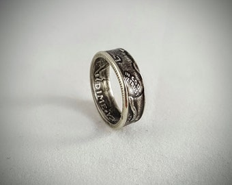 Mercury Dime Coin Ring/Toe Ring