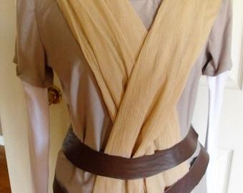Rey inspired running costume