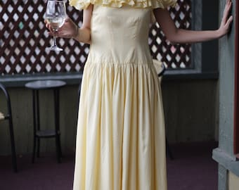 Daffodil Dream 1940s Gown