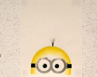 Minion || 4-Color Screen Print