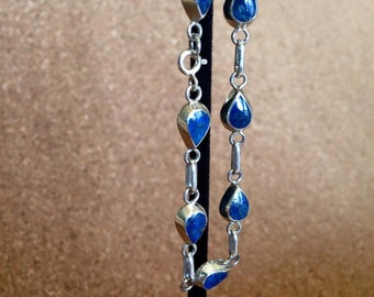 delicate tear drop bracelet