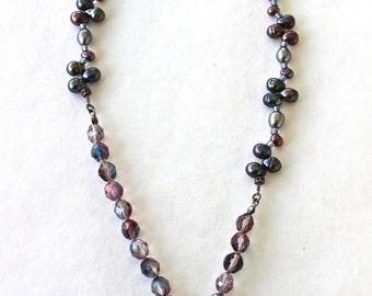 Asymmetrical Beaded Necklace