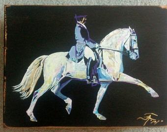Painted by Northwest artist, Julie Anne