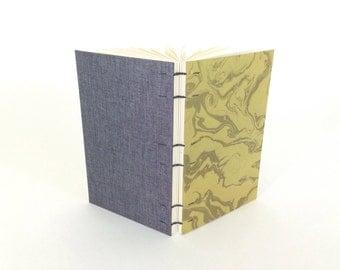 Ovenbird Bindery sewn-boards blank book