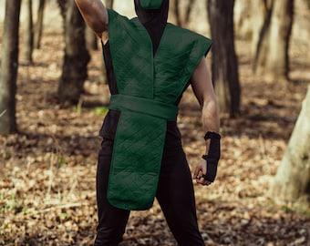 reptile ninja cosplay costume from mortal kombat video game halloween costume mk assassin outfit - Mortal Kombat Smoke Halloween Costume