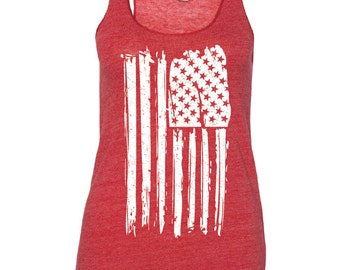 4th of July Shirt Women. 4th of July. Patriotic Tank. USA Shirt. USA Tank. July 4th Tank. Flag Tank Top. Stars and Stripes. July 4th Tee.