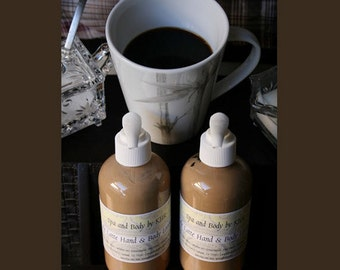 Cafe Latte Shea Butter Hand & Body Lotion