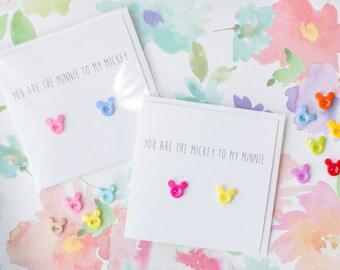 Mickey to my Minnie - Anniversary, Engagement & Valentines Card