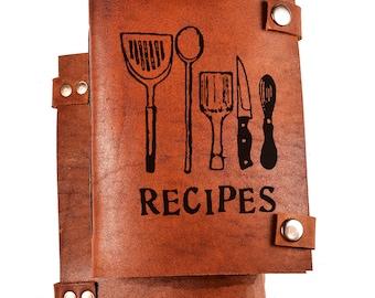 Personalized cook book -  Recipe Book - Personalized recipes journal - custom cookbook
