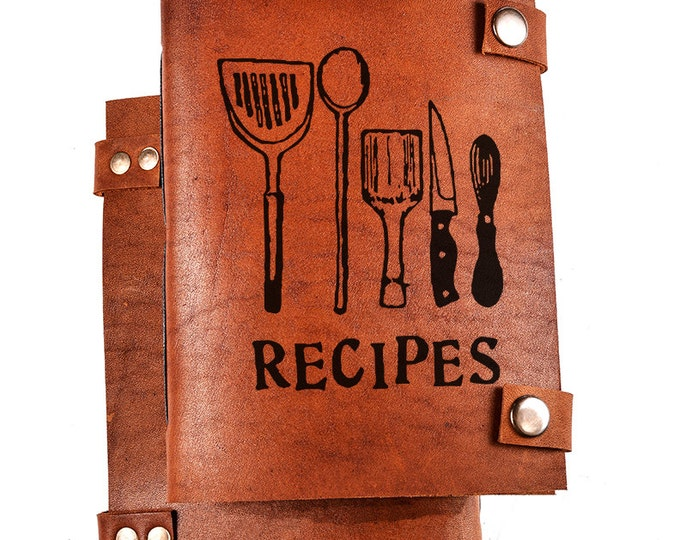 Personalized cook book - Recipe Book - Personalized recipes journal - custom cookbook