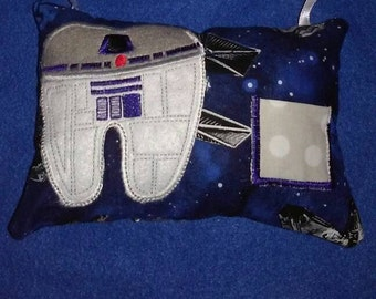 Star wars R2D2 or Chewy tooth fairy pillow
