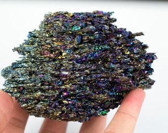 Rainbow Carborundum Silicon Carbide