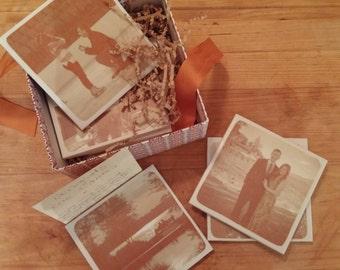 Custom Photo Coasters (100)