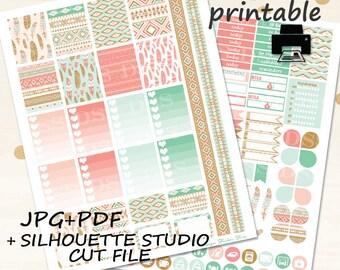 Printable Planner Stickers/Erin Condren Planner Stickers/February planner stickers/printable weekly /planner stickers printable