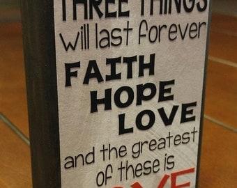 Faith, Hope, Love Block
