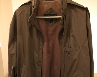 Rare vintage Member's Only beige jacket