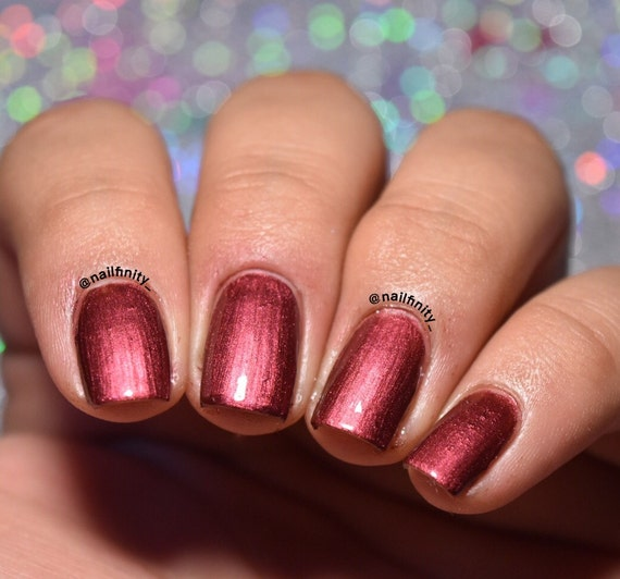 Nail Colors Burgundy: Vampire Burgundy Nail Polish Maroon Nail Polish By