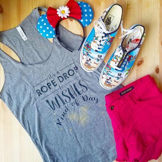Wishes Disney Shirt Disney Tee Disney Tank Disney Racerback Tank Disney Fireworks Shirt