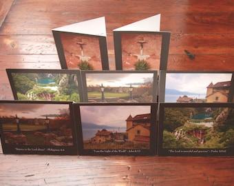 Catholic Greeting Cards (European travel)