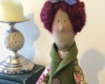 Tilda doll Sweet Rose. Ideal for home decor or as a gift.
