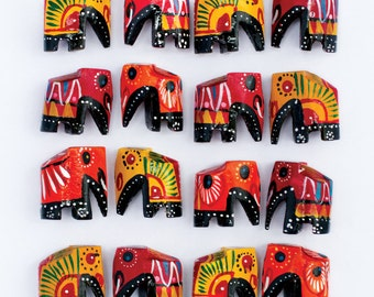 Elephant Postcards - Pack of 6