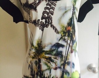 Tropical Palms Top, vacations, cruise, great MOTHER'S DAY GIFT!