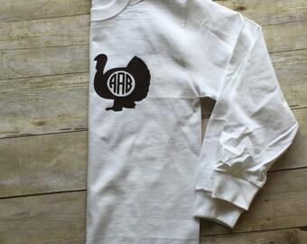 Monogrammed Turkey Shirt