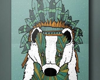 Headdress Badger