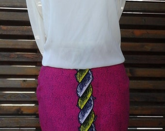 Wax skirt handmade
