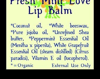 Fresh Mint Love Lip Balm