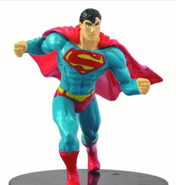 superman and superwoman wedding cake topper superman cake topper birthday figure figurine wedding 20613