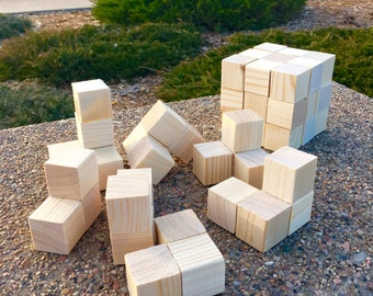 Brain Teaser Wood Cube Puzzle, Large!
