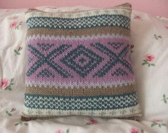 Norwegian style cushion 26cmx26cm