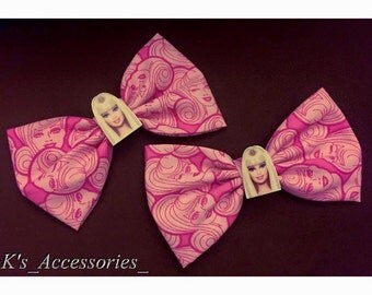 Barbie inspired Bows #Barbie #PinkBows