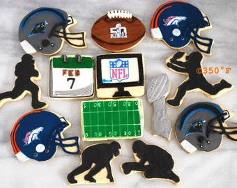 Superbowl 2016 cookies
