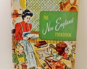 Vintage 1965 The New England Cookbook - Culinary Arts Institute 191 Recipes