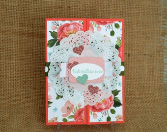 Mother's Day Card, Best Mother Ever Card, StampinUP Card