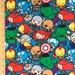 Marvel Kawaii Super Hero Fabric, Avengers Fabric, Hulk, Spiderman, Ironman, Captain America all in pack Cotton Fabric