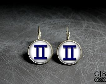 Gemini Dangles Earrings Gemini June Birthday Dangles - Gemini Earrings May Dangles Jewelry May Birthday Earrings - Gemini birthday earrings