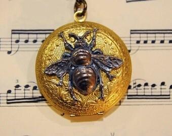 Honey Bee Locket