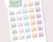 Gas pump planner stickers - 35 cute planner stickers kawaii pump
