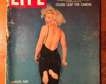 LIFE magazine Marilyn Monroe by Philippe Halsman 1959 issue