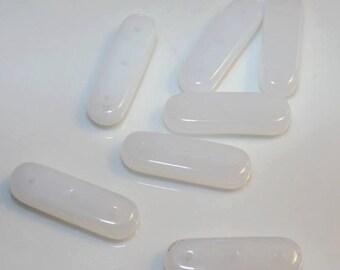 Glass bead separators 5x21mm, 5pcs
