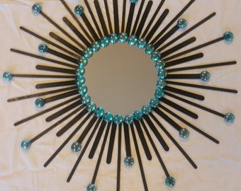 Charming Sunburst Mirror