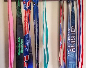 """Handmade Running Medal Hanger/Holder/Display """"'Washington' Runner"""""""