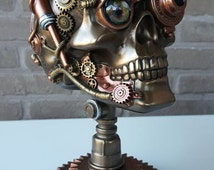 Steampunk skull - Design object