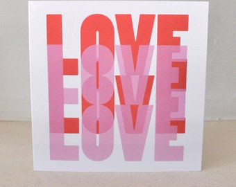Love, Greeting Card