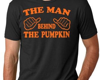 Halloween T-Shirt Dad Maternity Shirt Pumpkin Tee Shirt