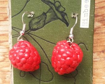 Rasberry Earrings