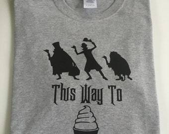 Adult Hitchhiking ghosts this way to dole whip tshirt